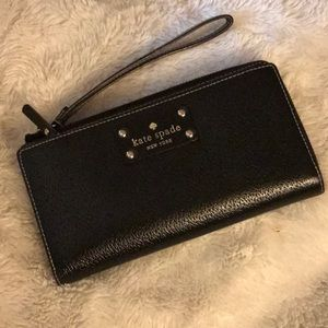 ♠️ Kate Spade Wellesley leather wallet/wristlet♠️